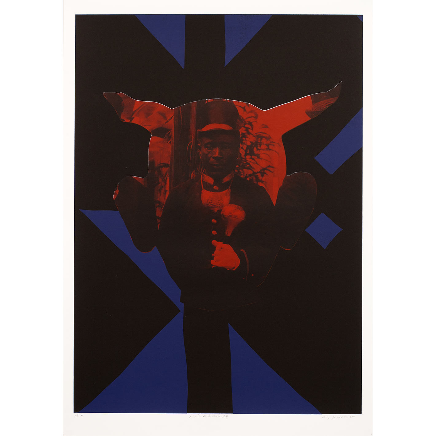 Peepina Devil Maroon A8 275 39 Inch 70 X 100 Cm 2011