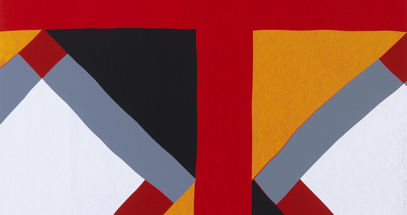 SILKSCREENS Peepina A2 Detail 275 X 39 Inch 70 100 Cm 2011